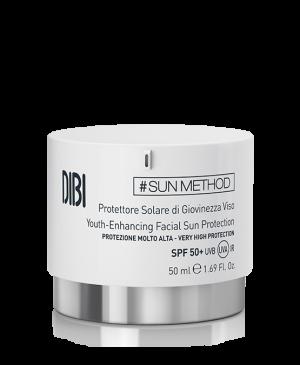 DIBI SUN METHOD солнцезащитный крем для молодости лица SPF 50+, 50 мл