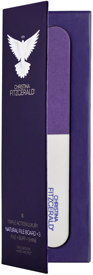 Christina Fitzgerald Triple Action Luxury – Natural File Board + 3