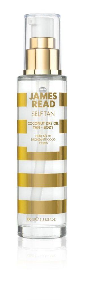 James Read Сухое кокосовое масло с эффектом загара COCONUT DRY OIL TAN BODY, 100ml