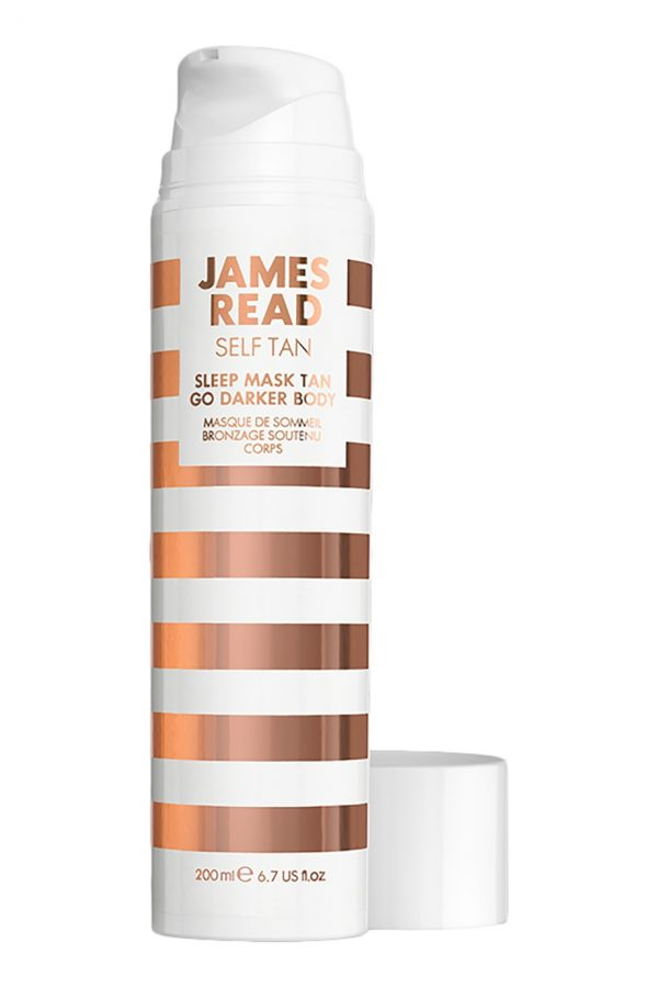 James Read Ночная маска для тела уход и загар темная James Read Sleep Mask Face Tan Body-Dark, 200 ml