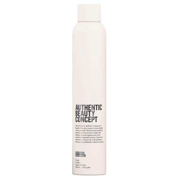 AUTHENTIC BEAUTY CONCEPT Лак для волос «Эластичная фиксация» WORKING, 300 мл