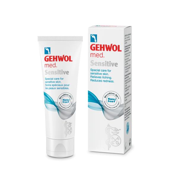GEHWOL Крем Sensitive для чувствительной кожи ног, 75 мл