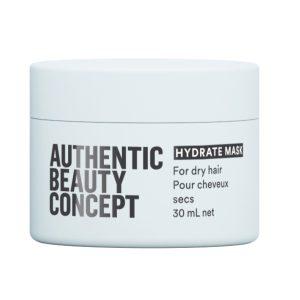 Hydrate mask Увлажняющая маска для волос Authentic Beauty Concept, 30 мл