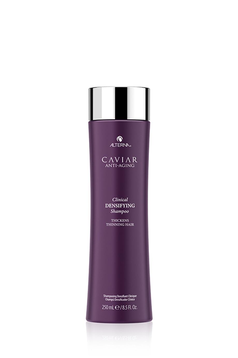 CAVIAR Anti-Aging Clinical Densifying Shampoo Шампунь-детокс для уплотнения и стимулирования роста волос с экстрактом красного клевера, 250мл