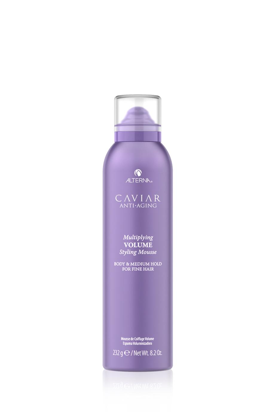 ALTERNA Мусс-лифтинг для придания волосам объема и плотности с кератиновым комплексом CAVIAR Anti-Aging Multiplying Volume Styling Mousse, 232 гр