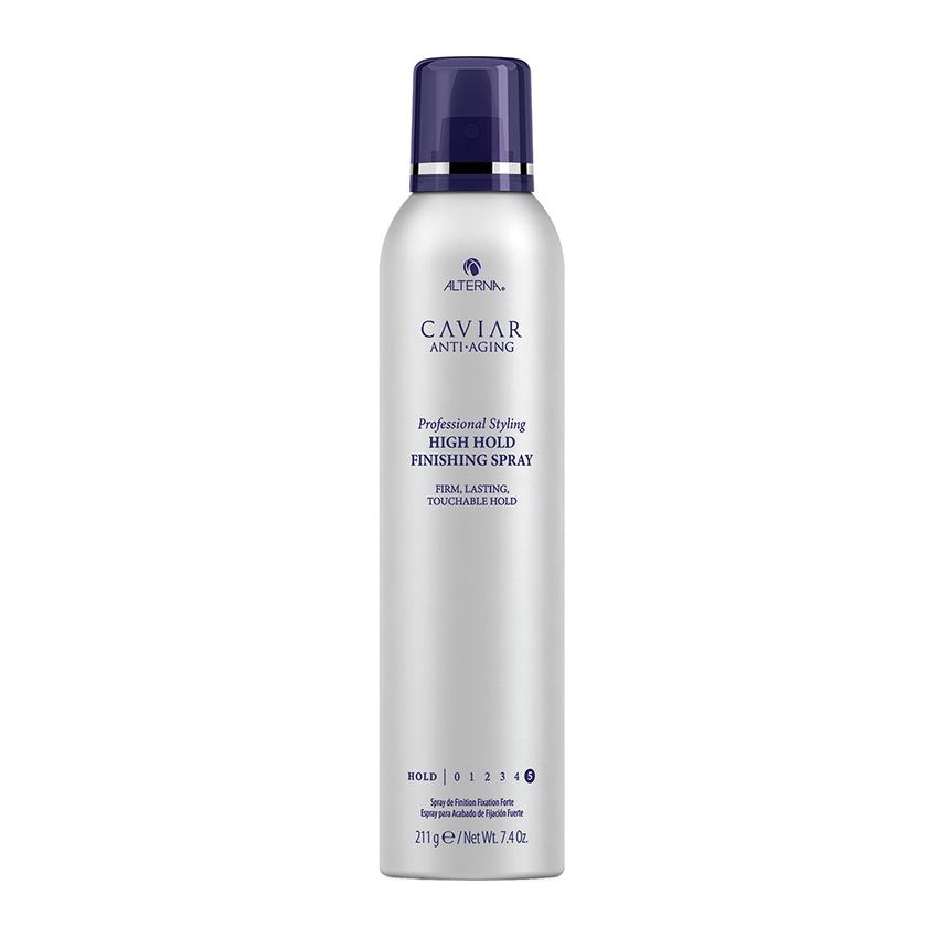 CAVIAR Anti-Aging Professional Styling High Hold Finishing Spray Лак сильной фиксации с антивозрастным уходом, 212 гр