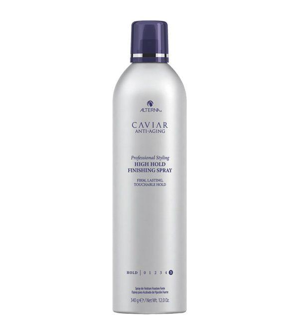 ALTERNA Лак для волос сильной фиксации CAVIAR Anti-Aging Professional Styling High Hold Finishing Spray, 340 гр