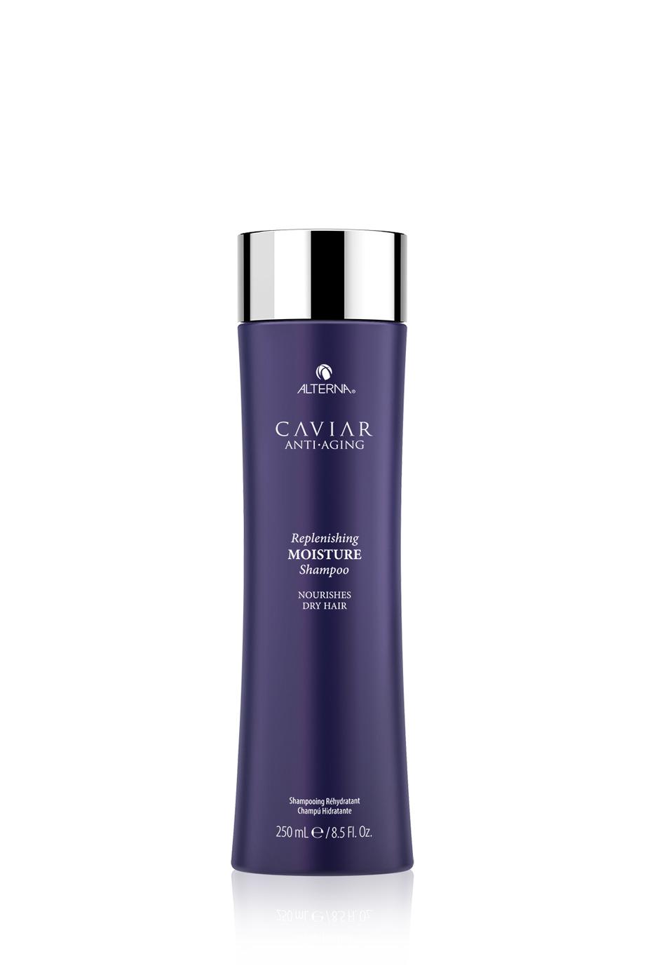 CAVIAR Anti-Aging Replenishing Moisture Shampoo Шампунь-биоревитализация для увлажнения с морским шелком, 250мл