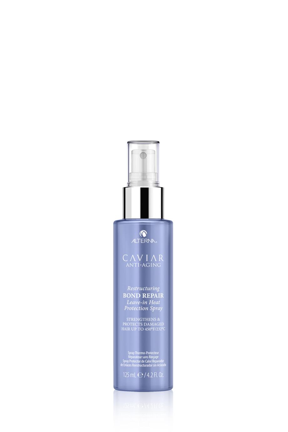 CAVIAR Anti-Aging Restructuring Bond Repair Leave-in Heat Protection Spray Несмываемый термозащитный спрей-регенерация для восстановления поврежденных волос, 125мл