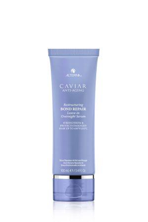 ALTERNA Регенерирующая ночная сыворотка для омоложения волос CAVIAR Anti-Aging Restructuring Bond Repair Leave-in Overnight Serum, 100 мл