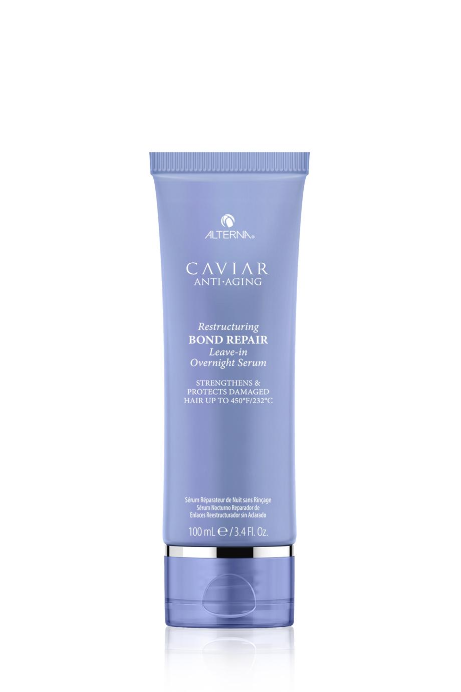 CAVIAR Anti-Aging Restructuring Bond Repair Leave-in Overnight Serum Регенерирующая ночная сыворотка для омоложения волос, 100мл
