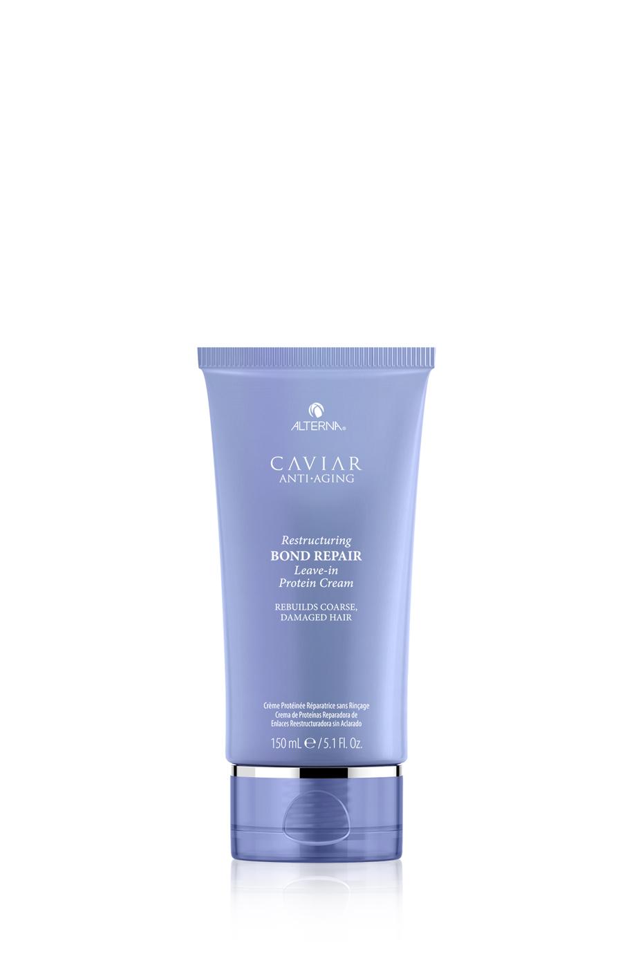 ALTERNA Несмываемый протеиновый крем-регенерация для восстановления поврежденных волос CAVIAR Anti-Aging Restructuring Bond Repair Leave-in Protein Cream, 150 мл