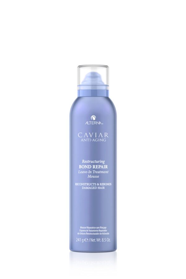 ALTERNA Интенсивный мусс-регенерация для протеинового восстановления структуры волос CAVIAR Anti-Aging Restructuring Bond Repair Leave-in Treatment Mousse, 241 гр