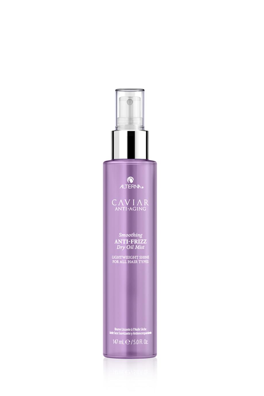 CAVIAR Anti-Aging Smoothing Anti-Frizz Dry Oil Mist Невесомое полирующее масло-спрей для контроля и гладкости волос, 147 мл