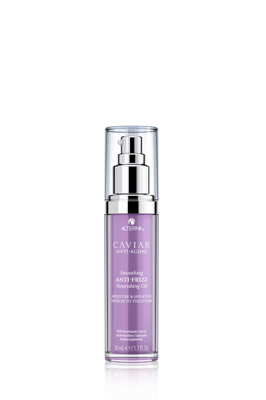 CAVIAR Anti-Aging Smoothing Anti-Frizz Nourishing Oil Питательное полирующее масло для контроля и гладкости волос, 50 мл