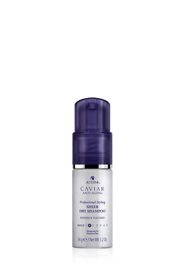 ALTERNA Сухой шампунь для волос с антивозрастным уходом Caviar Anti-Aging Professional Styling Sheer, 34 гр