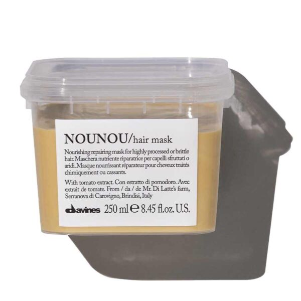 Davines Интенсивная восстанавливающая маска для глубокого питания волос NOUNOU, 250 мл