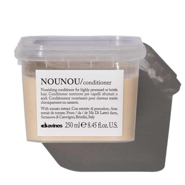 Davines Питательный кондиционер, облегчающий расчесывание волос NOUNOU, 250 мл