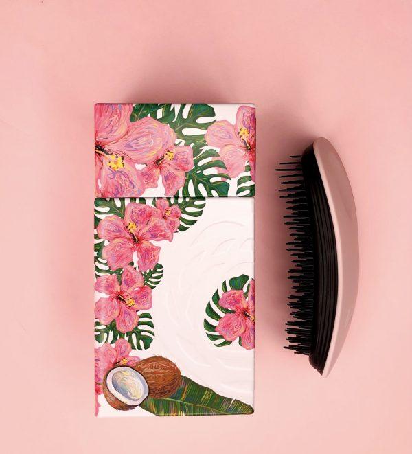 Расческа для волос home black cotton candy от IKOO