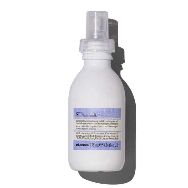 Солнцезащитное молочко Davines SU/hair milk 135мл